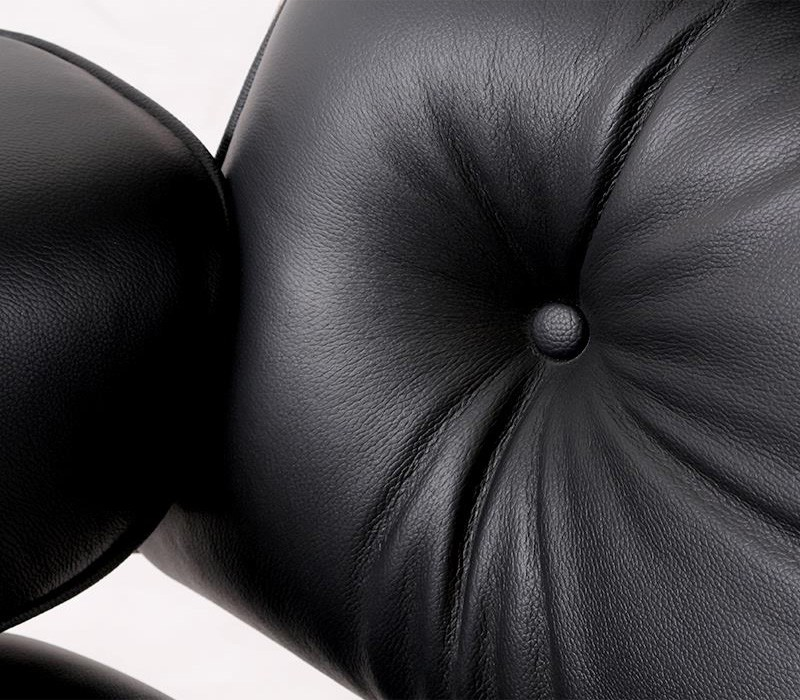 eames leather chair