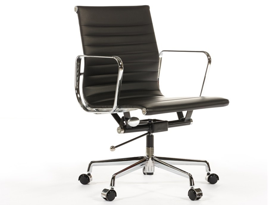 eames leather office chair